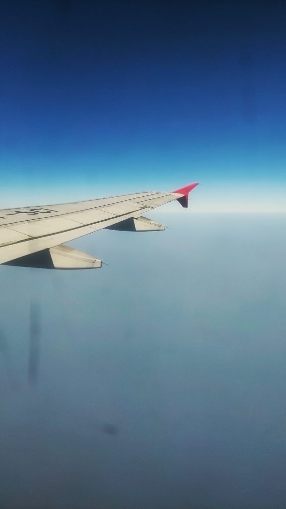 30,000 ft away from everyone and their bullshit