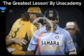 'The Greatest Lesson' by Unacademy