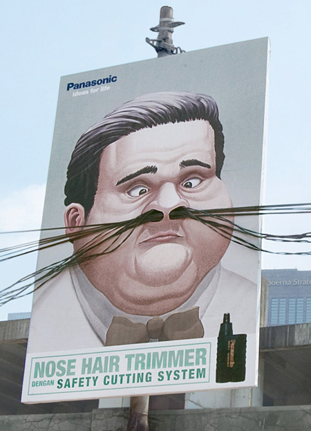 """""""Nose Hair Trimmer"""" by Saatchi & Saatchi Indonesia for Panasonic"""